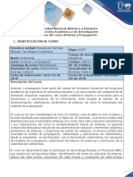 Syllabus Del Curso Antenas Propagacion