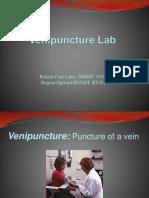 Venipuncture Lab Powerpoint