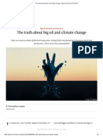 The Truth About Big Oil and Climate Change - Big Oil and the Environment
