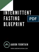 16 8 Intermittent Fasting Blueprint