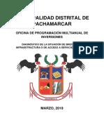 Diagnostico de Brecha de Pachamarca