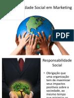 Responsabilidade Social Em Marketing