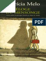 Patricia Melo - Eloge Du Mensonge [FR]