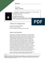 A Riot of Conspiracies