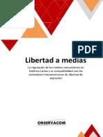 OBSERVACOM-Libertad a medias_Regulacion medios comunitarios en AL y libertad de expresión-Informe 2017