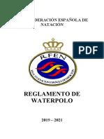 Reglamento WP 2019-2021