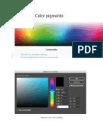 Color Luz y Color Pigmento