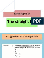 Mf4 Chapter 5 the Straight Line Ppt