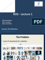 ROS Lecture1