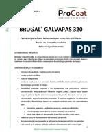 Tds Brugal Galvapas 320