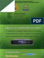 Amplificador Doble de Audio Ponce 2019-0