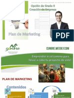 Opciòn de Grado 2 - Presentaciòn Plan de Marketing