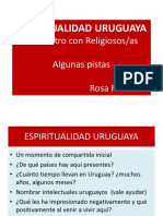 ESPIRITUALIDAD URUGUAYA, Confru