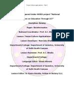 Tissue Culture Applications-Part I