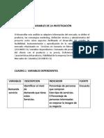 VARIABLES DE LA INVESTIGACIÓN e hipotesis.docx