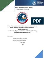 Evaluacion y Mejora de Los Sistemas de Gestión