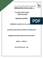 analisis de la lectura innovacion y desarrollo tecnologico.docx