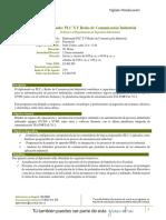 Respuesta Automática Diplomado PLC´S Y Redes de Comunicación Industrial 2018