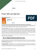 Firmar JARs Java Web Sart – Jaehoo Weblog