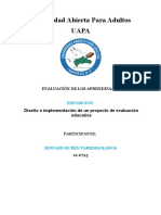 Exposicion Edward Caracteristicas Evaluacion