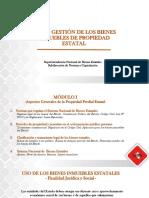 Gestión de los Bienes Públicos.