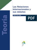 HALLIDAY, Fred, Las Relaciones Internacionales