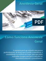 Anestesia Geral