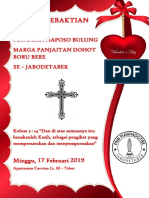 Tata Ibadah Bulan 2 2019