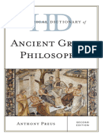 Anthony Preus - Historical Dictionary of Ancient Greek Philosophy (2015, Rowman & Littlefield Publishers).epub