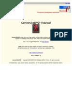 ConvertXtoDVD v4 Manual