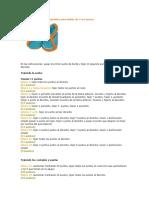 Instrucciones para los zapatitos para bebés de 3 a 6 meses.docx