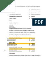 Explicación Ejercicios Semana 1-2 de Costos y Presupuesto