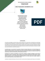 Planeación de Área de Tecnología e Informática 2018.docx