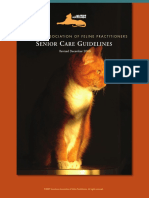 AMERICAN ASSOCIATION OF FELINE PRACTITIONERS - Senior Care Guidelinesl.pdf
