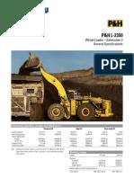 l 2350 Specification Sheet