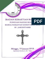 Tata Ibadah Bulan 1 2019