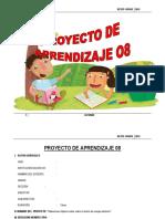 PROYECTO DE APRENDIZAJE  6° OCTUBRE - 2015.docx