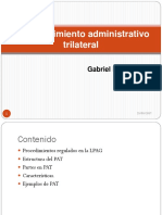 Procedimiento Administrativo Trilateral