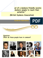 Dyslexia Friendly Presentation
