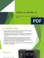 Display & Control (2)