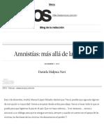 [2017 12 07] Amnistías_ Más Allá de La Locura _ Blog de La Redacción (Nexos)