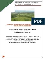 LICITACIÓN PÚBLICA Nº 001-2012-MDP-1