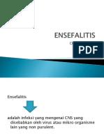 Askep Enchapalitis