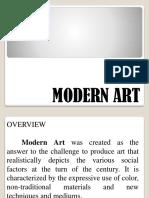 Grade10 Modern Art Impressionsim-expressionism