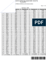Income Tax Audit List 1
