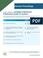 Copyright License Checklist.pdf