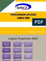 Penggunaan SIMDA BMD
