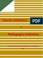 La Teoría Sistémica y Pedagogía