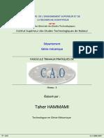 Fascicule Tp Cao Topsolid