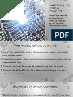 Optical Computers Technical Seminar Vtu Ece Ppt